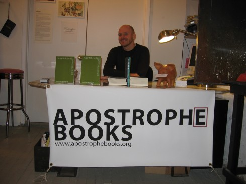 Paul Foster Johnson @ the Apostrophe table