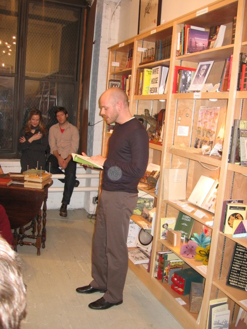 "The Poet Reading ""Rhythmicon"""